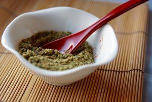 若返りビタミンといわれるビタミンEがたっぷりのふりかけ。玄米と一緒に食べて、いつまでも若々しく健康に!