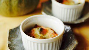かぼちゃの煮物が余った時も、チーズを散らして焼いてみてね。