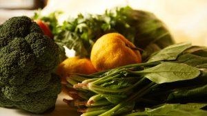 毎日摂りましょう!緑黄色野菜。