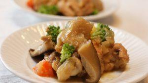 実家に通ってお世話している時は、よく夕飯に作りました。骨つきの鶏肉が大好きな父でした。