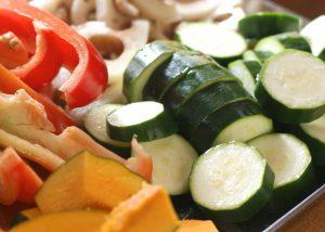みずみずしい野菜は調理も味付けもシンプルが一番!